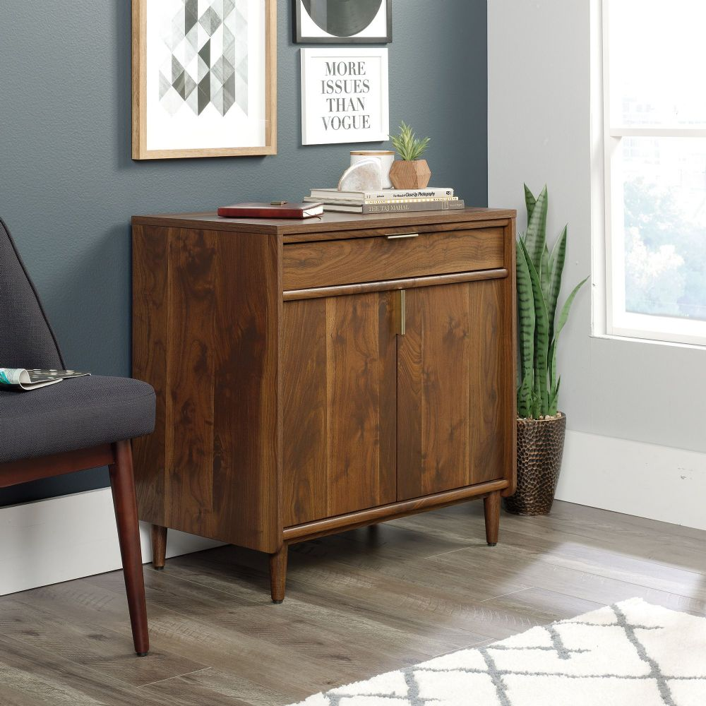 TEKNIK CLIFTON PLACE Storage Sideboard With Grand Walnut Finish Effect